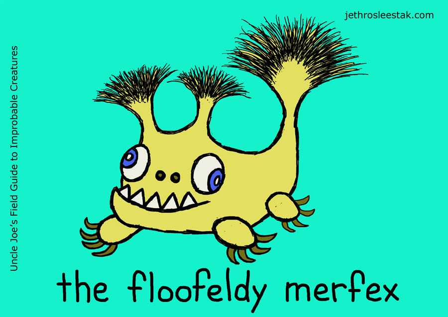 The Floofeldy Merfex Trading Card