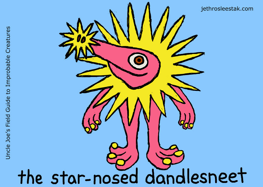 The Star-Nosed Dandlesneet Trading Card