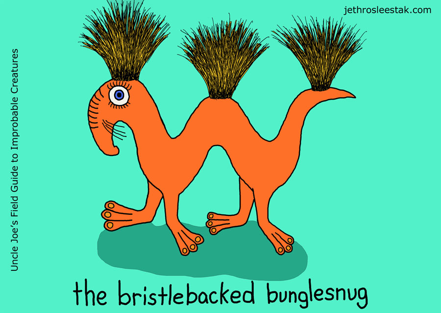 The Bristlebacked Bunglesnug Trading Card
