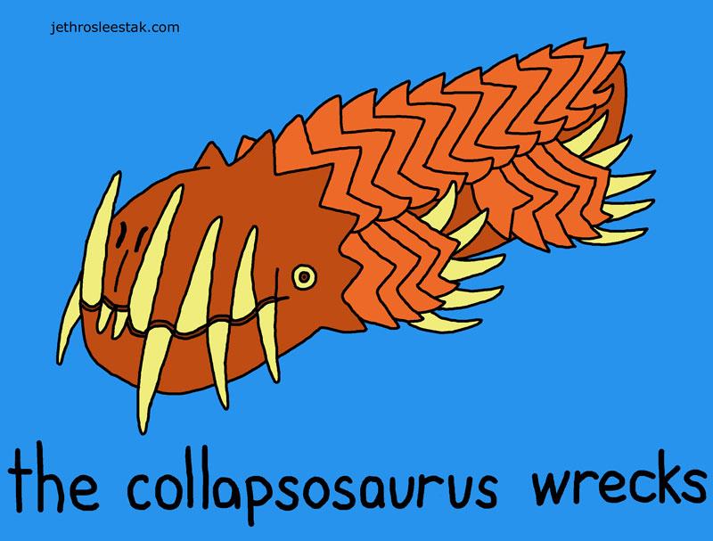 Collapsosaurus Wrecks