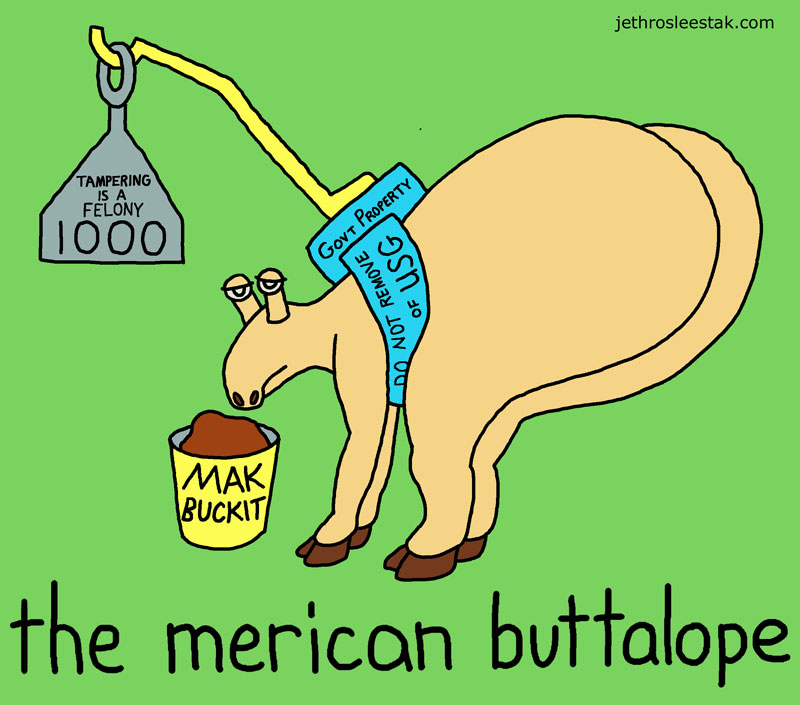 The Merican Buttalope