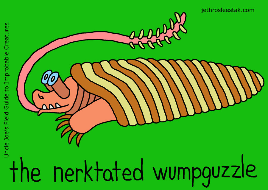 The Nerktated Wumpguzzle Trading Card