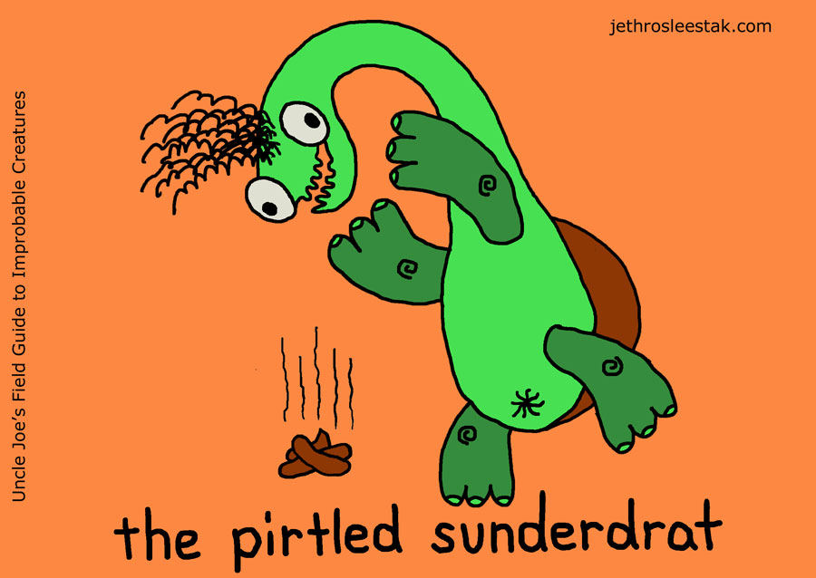 The Pirtled Sunderdrat Trading Card