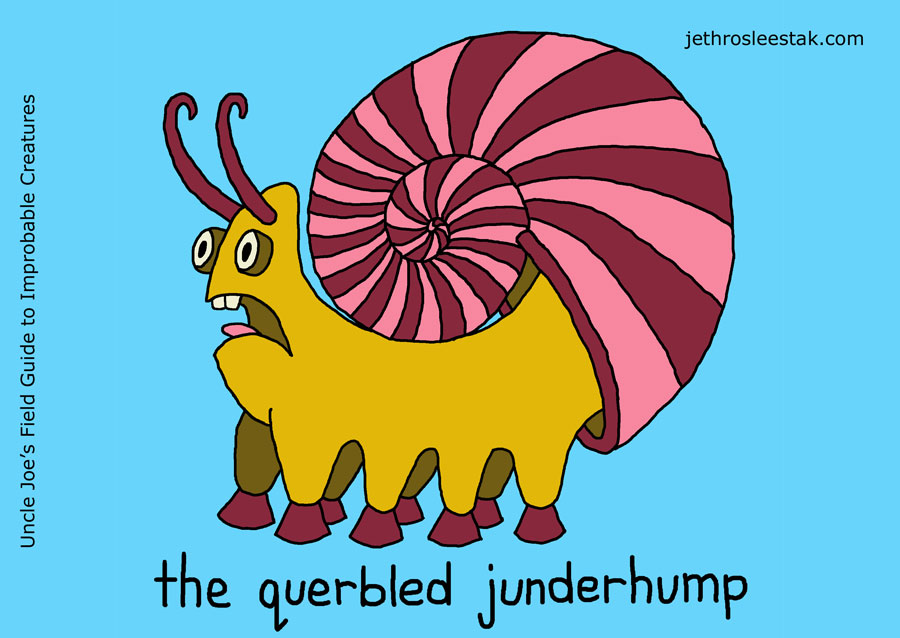 The Querbled Junderhump Trading Card