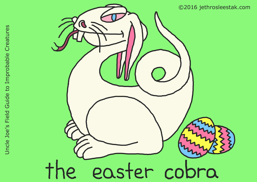 The Easter Cobra Trading Card