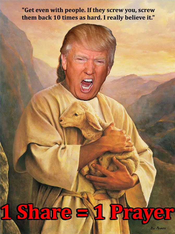 Donald Trump, Prince of Peace