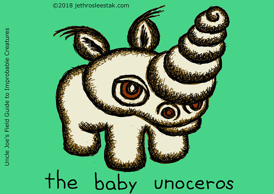 The Baby Unoceros Trading Card