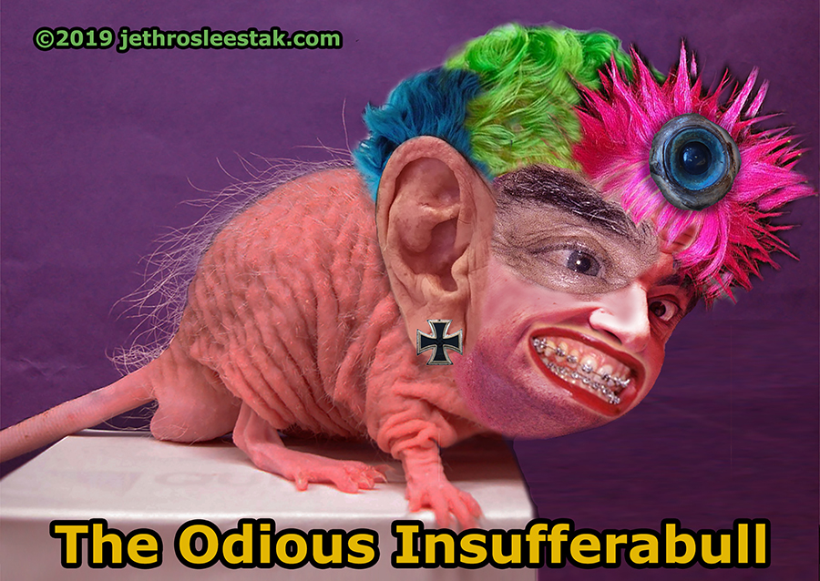 The Odious Insufferabull Trading Card
