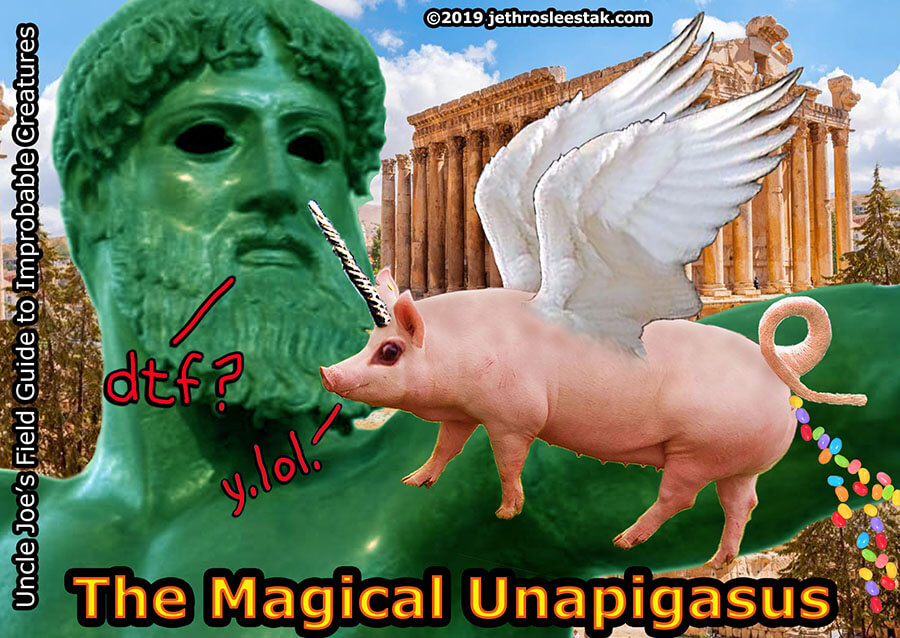 The Magical Unapigasus Trading Card