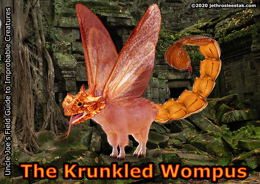 The Krunkled Wompus Trading Card