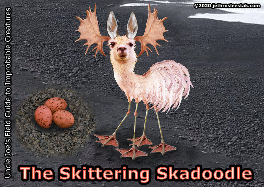 The Skittering Skadoodle Trading Card