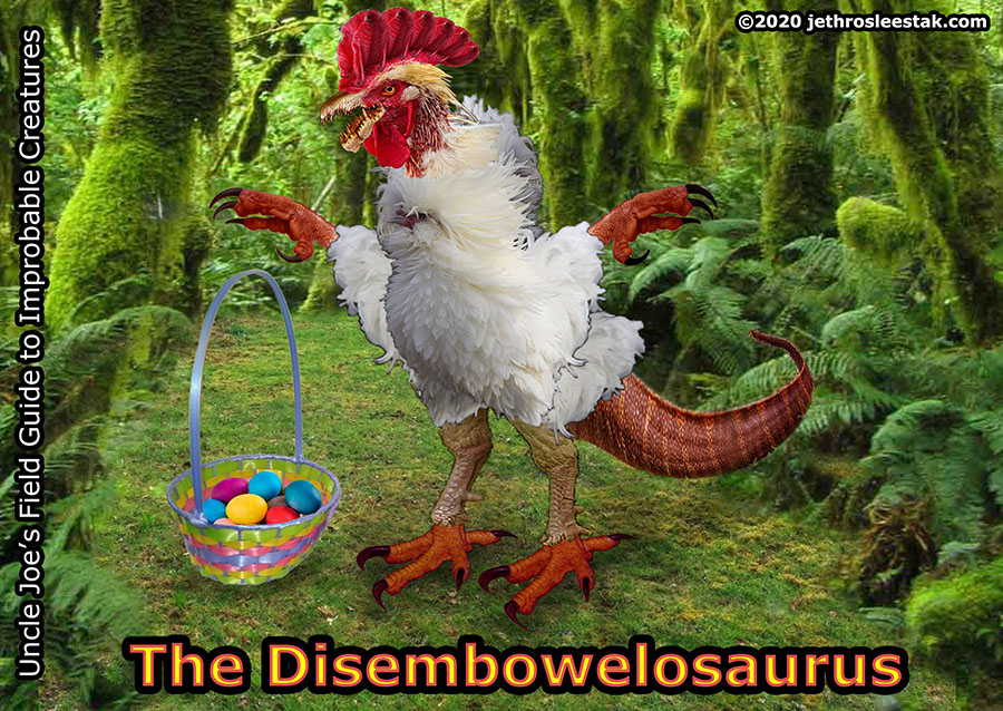 The Disembowelosaurus Trading Card