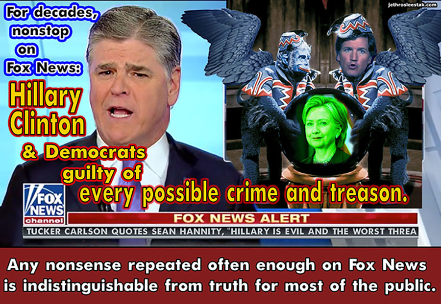 Meme Sean Hannity Flying Monkeys