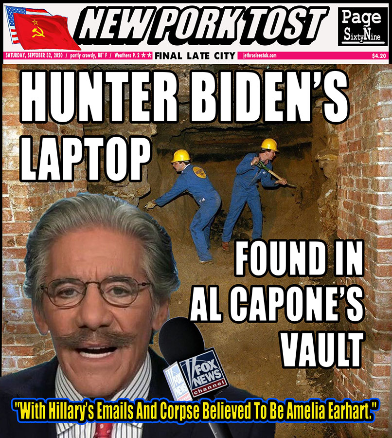 Meme: Hunter Biden's Laptop Found In Al Capone's Vault