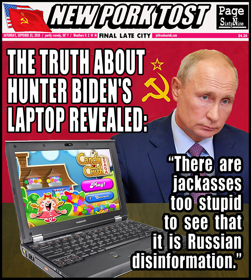 Meme: The Truth About Hunter Biden's Laptop Revealed