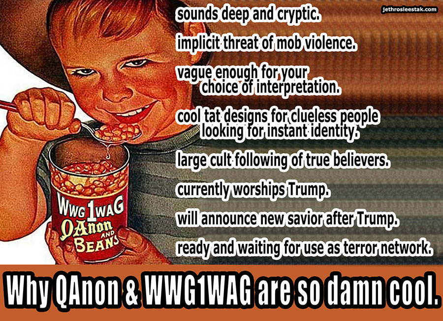 Meme Why QAnon & WWG1WAG Are So Damn Cool
